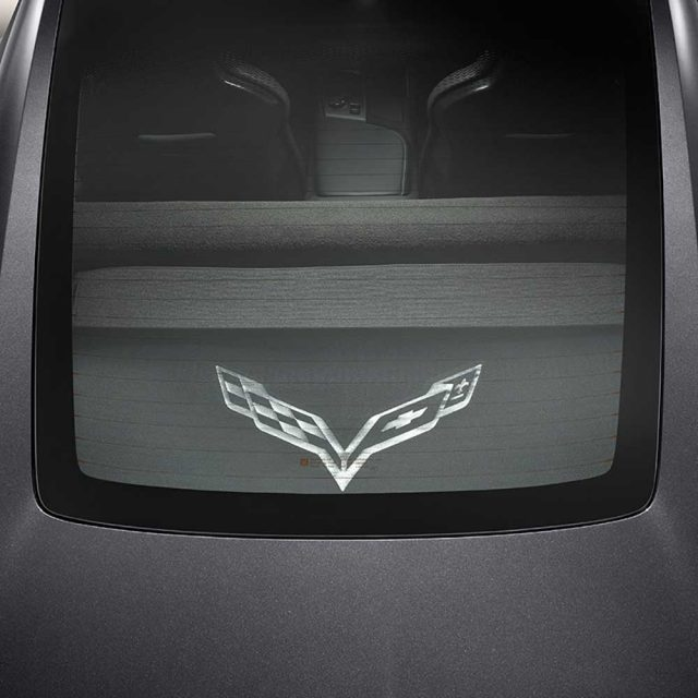 GM C7 Corvette Security Shades installed - 22952948
