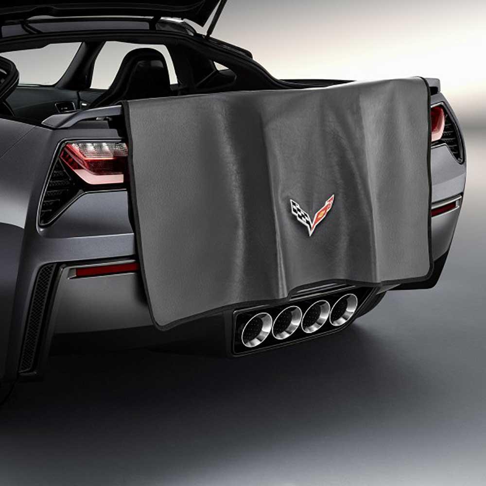GM C7 Corvette Rear Bumper Fascia Cover - 23124544