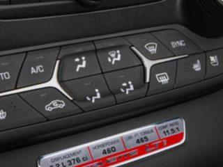 GM C7 Corvette Interior Trim Badge - LT1 Performance - 23138330
