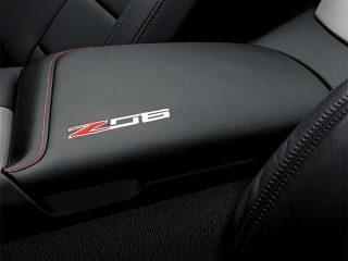 GM C7 Z06 center console lid - black - 23296463