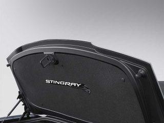 GM C7 Stingray Rear Deck Liner installed - 84068478
