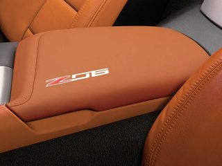 GM C7 Z06 center console lid - kalahari - 84255314