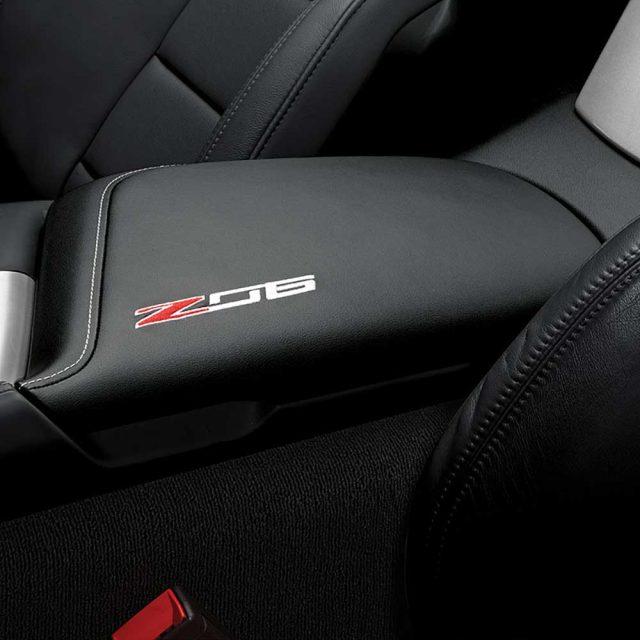 GM C7 Z06 center console lid - jet black - 84539755