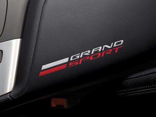 GM C7 Grand Sport center console lid - black - 84539763
