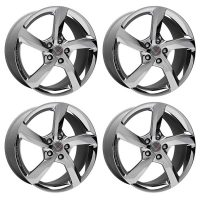 GM Premiere Edition Chrome Wheel Set for C7 Corvette Stingray