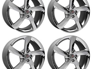 GM Premiere Edition Chrome Wheel Set for C7 Corvette Stingray