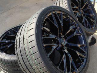 C7 Z06 GM Black Wheel Tire Package-5