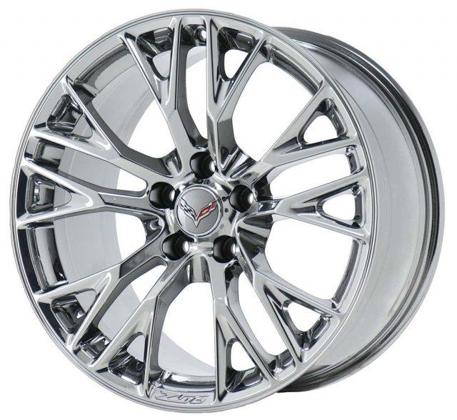 OEM C7 Z06 Corvette Wheels - Chrome