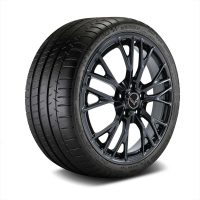 C7 Z06 GM Black Wheel Tire Package