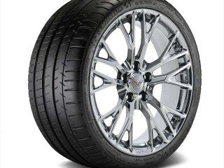 C7 Z06 GM Chrome Wheel Tire Package