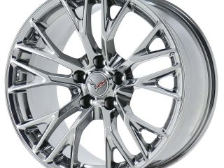 C7 Z06 GM Chrome Wheel Tire Package