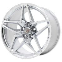 C7 ZR1 GM Chrome Wheel Tire Package