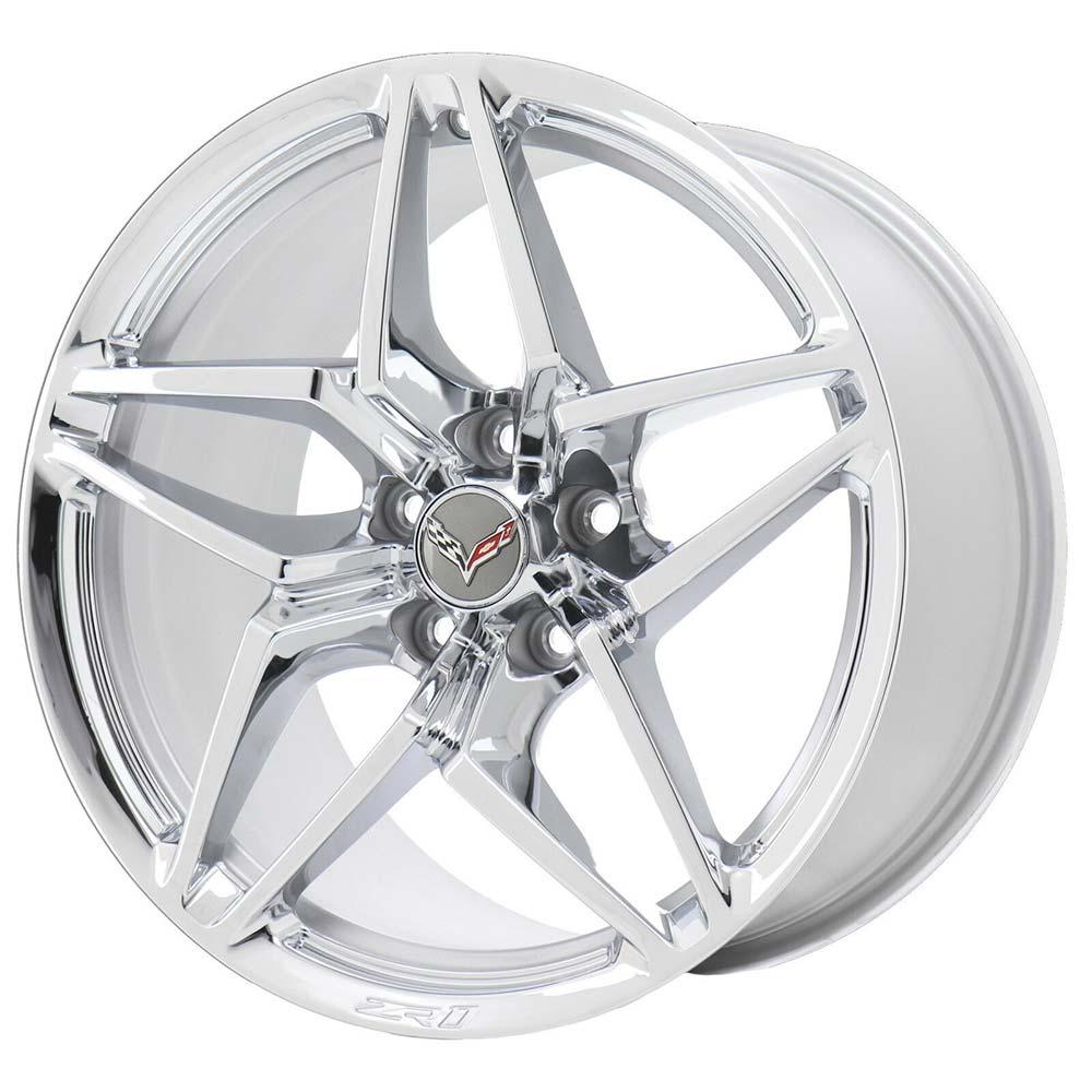 C7 ZR1 GM Chrome Wheel Tire Package
