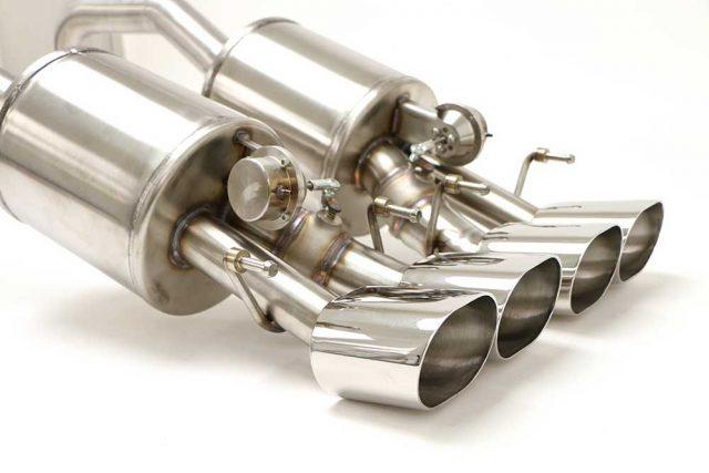BBE C6 Corvette Fusion Exhaust - Quad Oval Tips