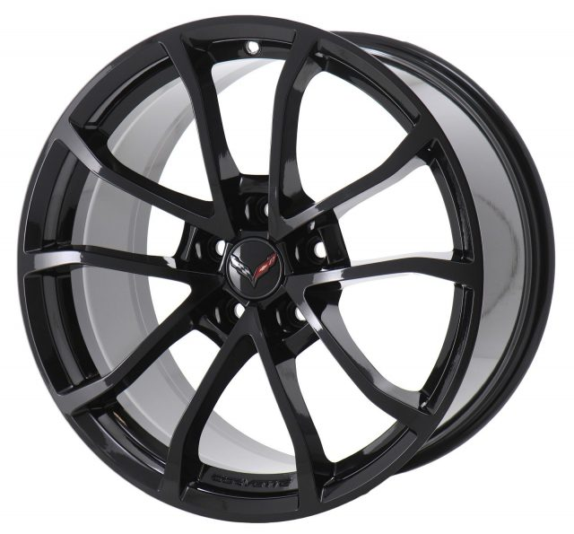 GM C7 Grand Sport Cup Wheels - Gloss Black