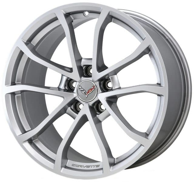 GM C7 Grand Sport Cup Wheels - Silver