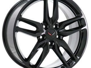 GM C7 2014 Z51 Corvette Stingray Wheels - Black