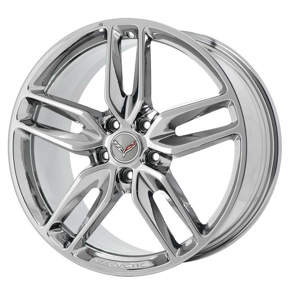 GM C7 2014 Z51 Corvette Stingray Wheels - Chrome