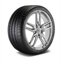GM C7 Z51 Stingray Corvette Chrome Wheel Tire Package