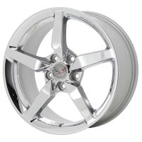 GM C7 Corvette Stingray Wheels - Chrome