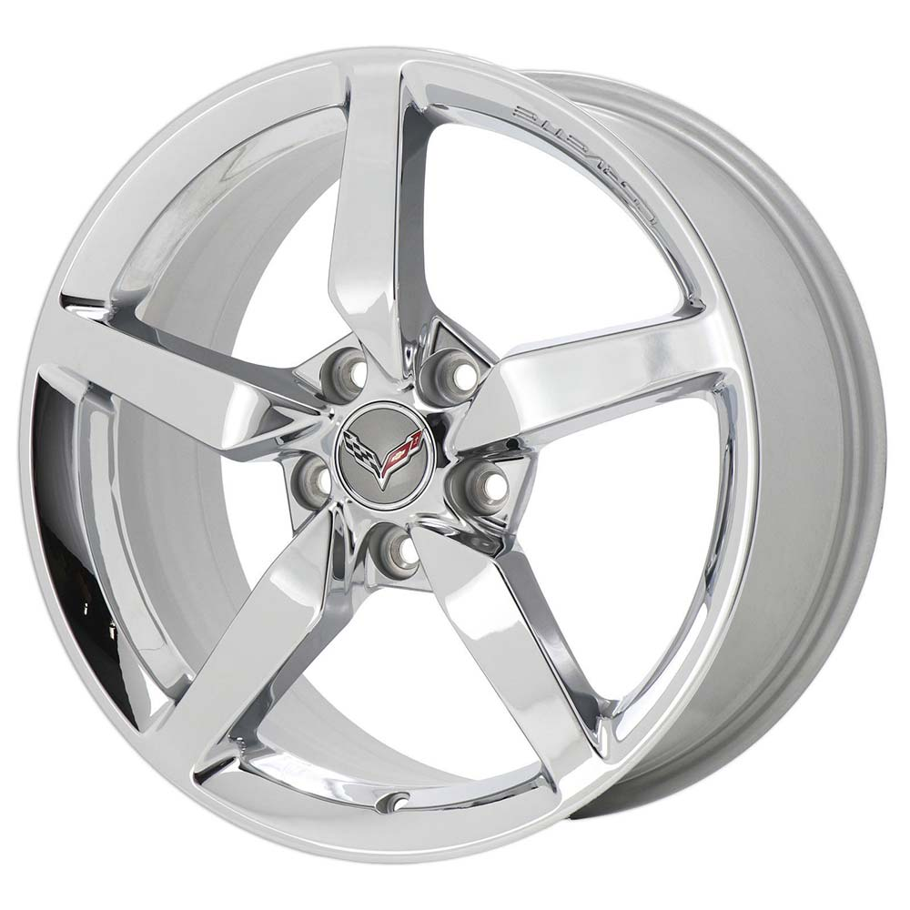 GM C7 Corvette Stingray Wheels - Chrome
