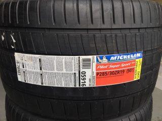 Michelin Pilot Super Sport ZP Corvette Tires