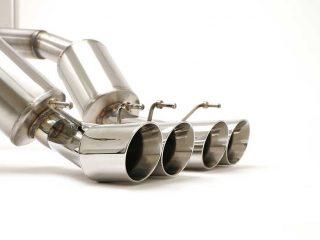 BBE C6 Corvette PRT Exhaust - Round Tips
