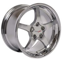 C5 Reproduction Corvette Wheels - Chrome