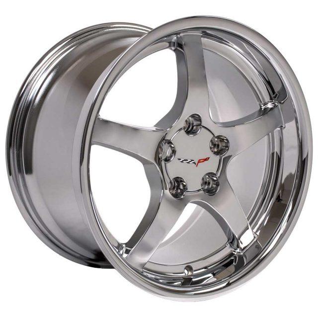 C5 Reproduction Corvette Wheels - Chrome