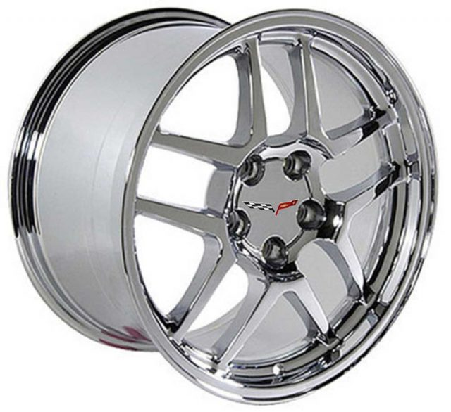 C5 Z06 Reproduction Corvette Wheels - Chrome