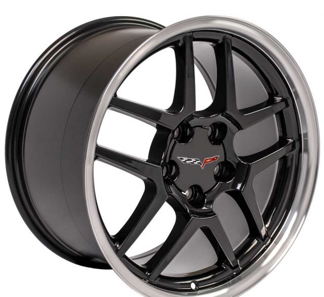 C5 Z06 Reproduction Corvette Wheels - Gloss Black
