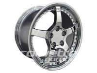 C5R Deep Dish Wheels for 1997-2004 C5 and Z06 Corvette - Chrome