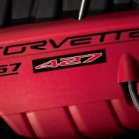 C6 Corvette Z06 427 Engine Cover Badge - 19154724