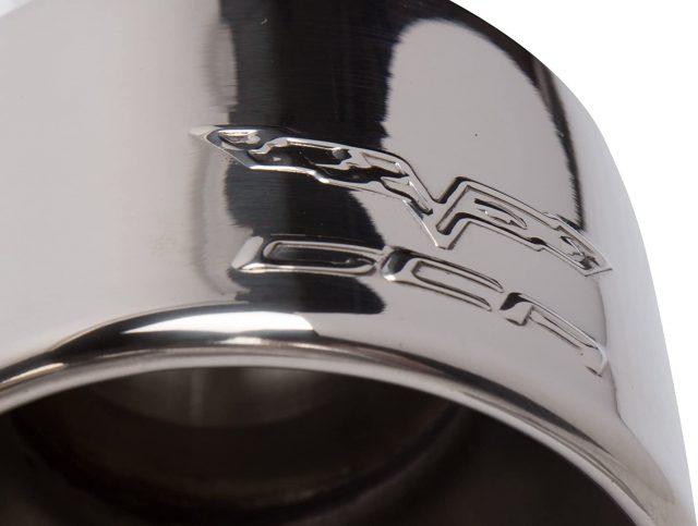 C6 Corvette GM Polished Exhaust Tips - 17801885