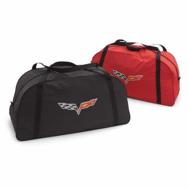 C6 Corvette Storage Bag Crossed Flags - 19158354