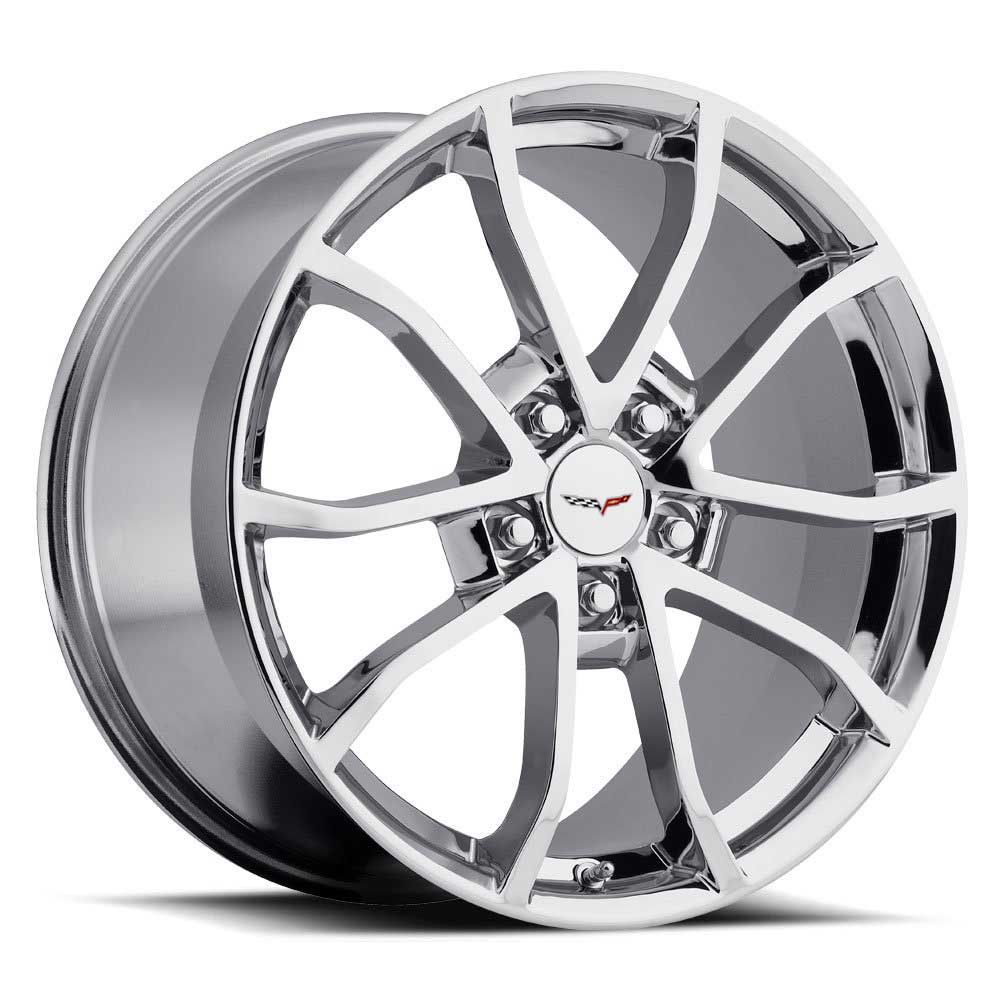 C6 Cup Corvette Reproduction Wheel - Chrome