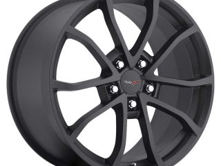 C6 Cup Corvette Reproduction Wheel - Satin Black