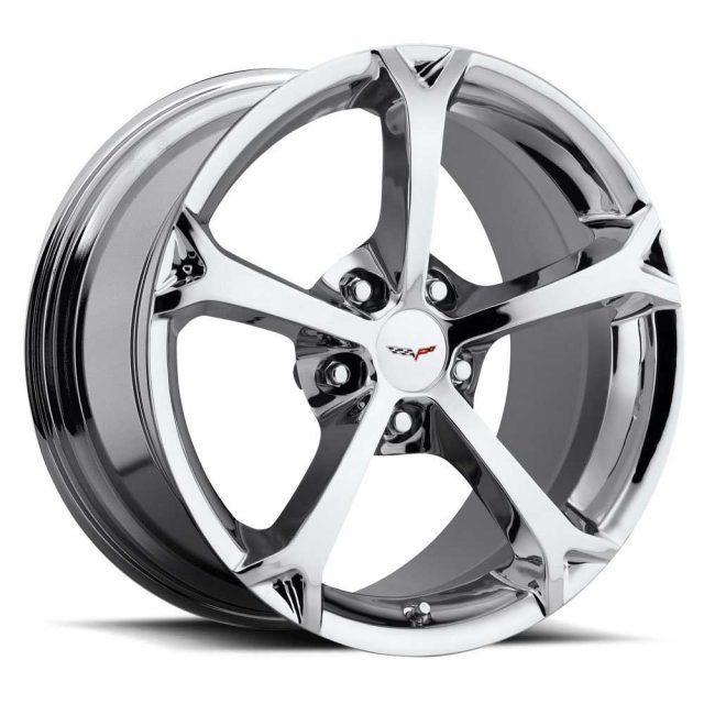 C6 Grand Sport Corvette Reproduction Wheel - Chrome