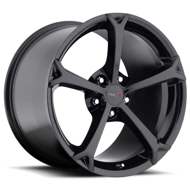 C6 Grand Sport Corvette Reproduction Wheel - Gloss Black
