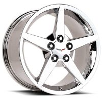 C6 Corvette Reproduction Wheel - Chrome