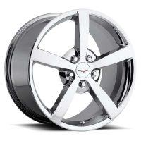 C6 Corvette Gumby Reproduction Wheel - Chrome
