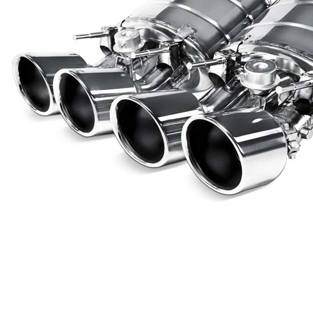 Akrapovic Exhaust System for the 2006-2013 C6 Z06 & ZR1 Corvette - Titanium Tips