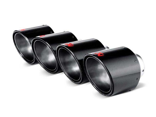 Akrapovic C6 Z06 & ZR1 Corvette - Carbon Fiber Tips