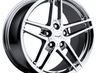 C6 Z06 Corvette Reproduction Wheel - Chrome