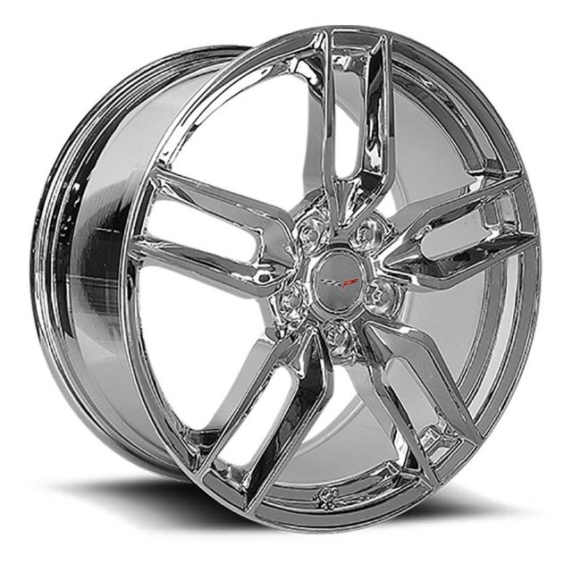 C6 Z51R Corvette Reproduction Wheel - Chrome