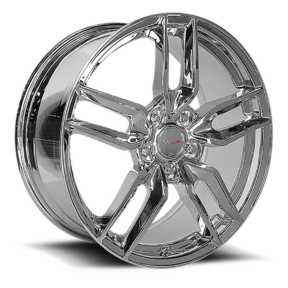 C6 Z51R Corvette Reproduction Wheel - Chrome