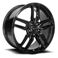 C6 Z51R Corvette Reproduction Wheel - Gloss Black