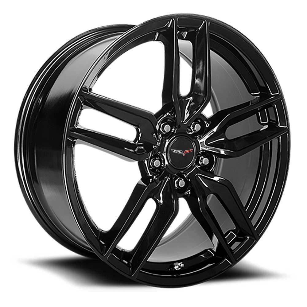C6 Z51R Corvette Reproduction Wheel - Gloss Black