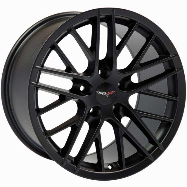 ZR1 Reproduction Wheels for 1997-2004 C5 and C6 Z06 Corvette - Gloss Black