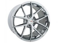 Z06 Spyder Wheels for 2005-2013 C6 and Z06 Corvette - Chrome